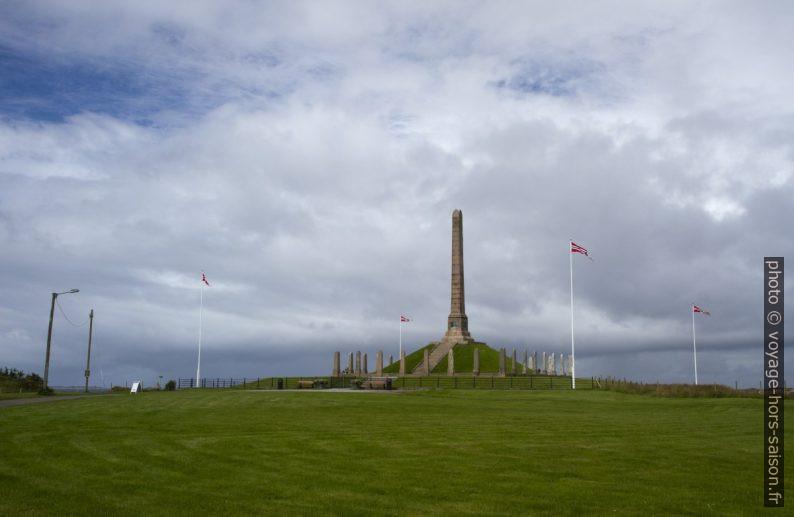 Monument de Haraldshaugen. Photo © Alex Medwedeff