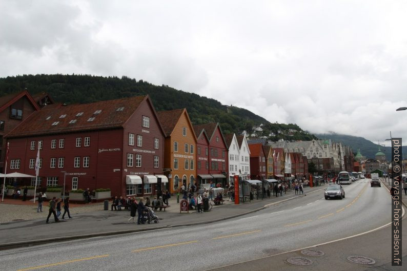 Tyskebryggen de Bergen. Photo © André M. Winter