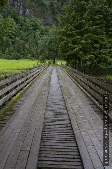 Pont sur la rivière Jølstra. Photo © Alex Medwedeff