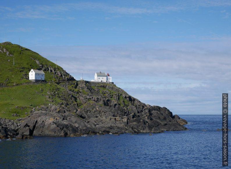 Le phare Kråkenes Fyr. Photo © Nicolas Medwedeff