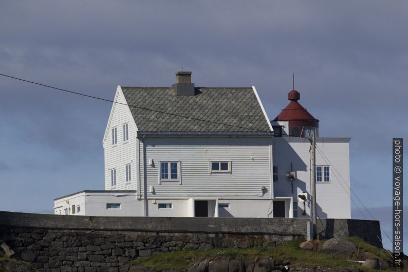Le phare Kråkenes Fyr. Photo © André M. Winter