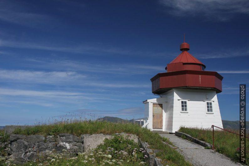 Le phare trapu de Skongenes. Photo © Alex Medwedeff