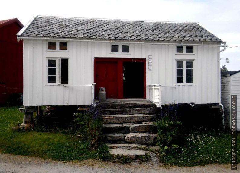 Ancienne maison en bois norvégienne. Photo © André M. Winter