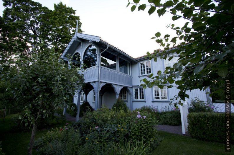 Véranda de Fåbro gård. Photo © André M. Winter