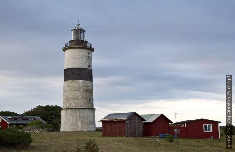 Le phare de Morups Tånge. Photo © Alex Medwedeff
