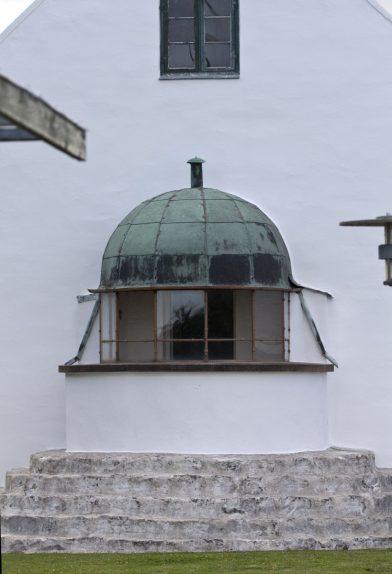 Lanterne de l'ancien phare de Stevns. Photo © André M. Winter