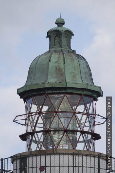 Lanterne du phare de Stevns. Photo © André M. Winter