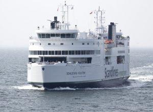 Ferry Schleswig-Holstein de Scandlines. Photo © André M. Winter
