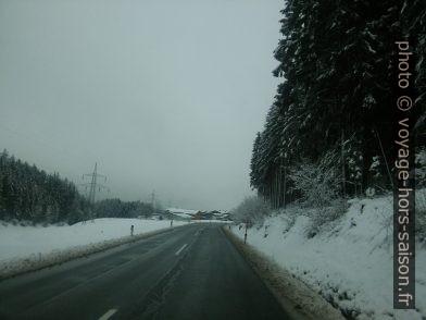 Départ en hiver du Tyrol. Photo © André M. Winter