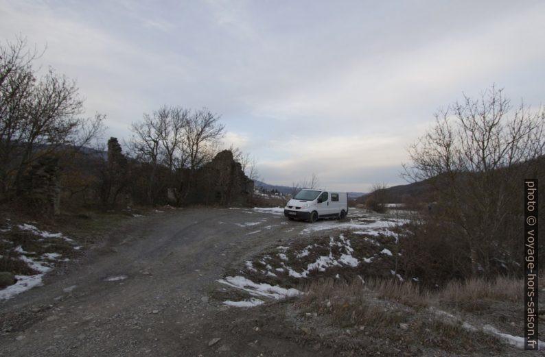Notre trafic à l'emplacement près de Grondona. Photo © André M. Winter
