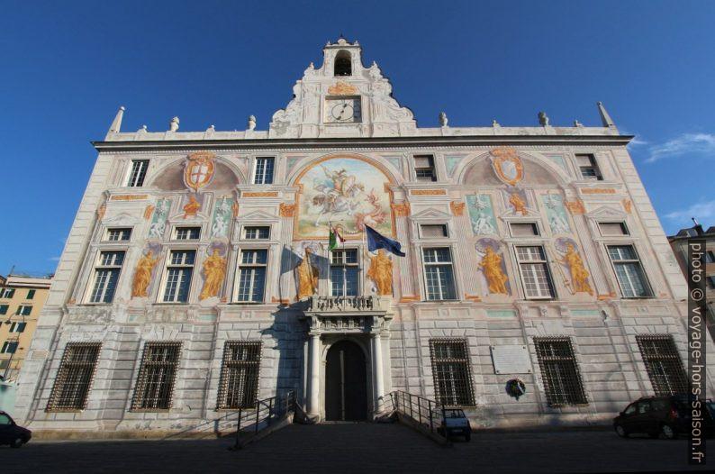 Palazzo San Giorgio à Gênes. Photo © André M. Winter