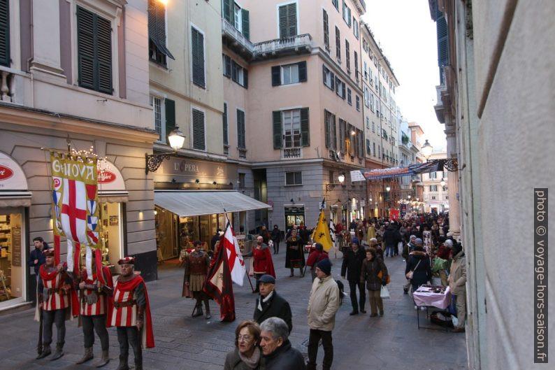 Défilé de la cérémonie du Confuoco à Gênes. Photo © André M. Winter