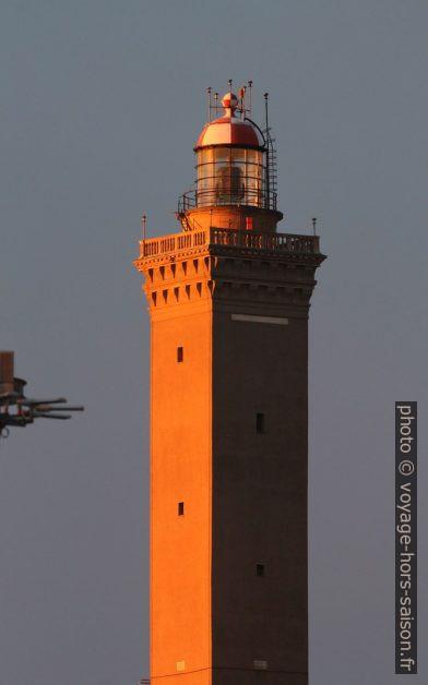 Partie supérieure de la Lanterna di Genova. Photo © André M. Winter