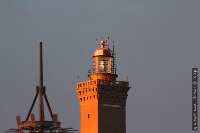 Lanterne du phare de Gênes. Photo © André M. Winter