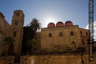 Façade latérale de la Chiesa di San Cataldo. Photo © Alex Medwedeff