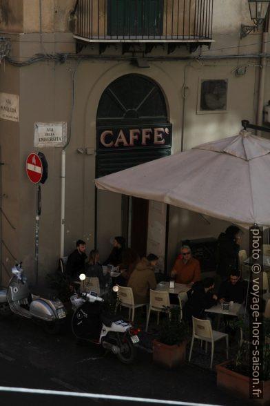 Caffè Ateneo. Photo © Alex Medwedeff