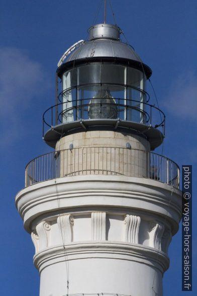 Lanterne du phare de Capo San Vito. Photo © André M. Winter
