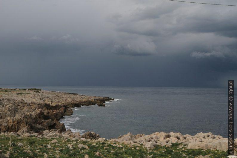 Punta Solanto sans ses constructions. Photo © Alex Medwedeff