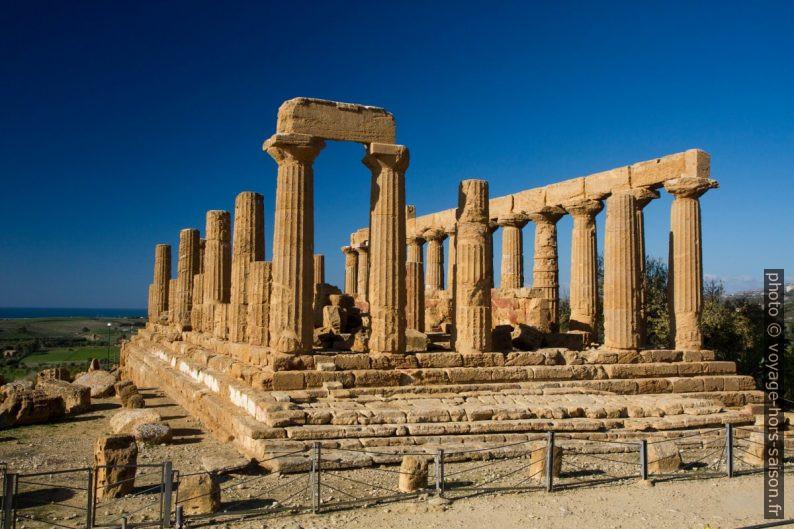Temple d'Héra à Agrigente. Photo © Alex Medwedeff