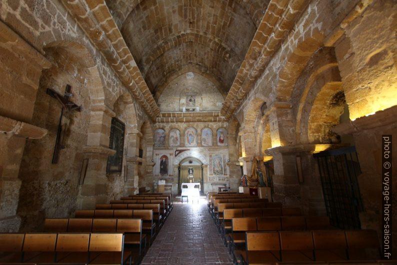 Nef de la chiesa di San Nicola à Agrigento. Photo © André M. Winter