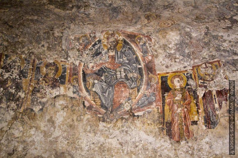 Fresques de la Chiesa Rupestre di San Nicolò Inferiore di Modica. Photo © André M. Winter