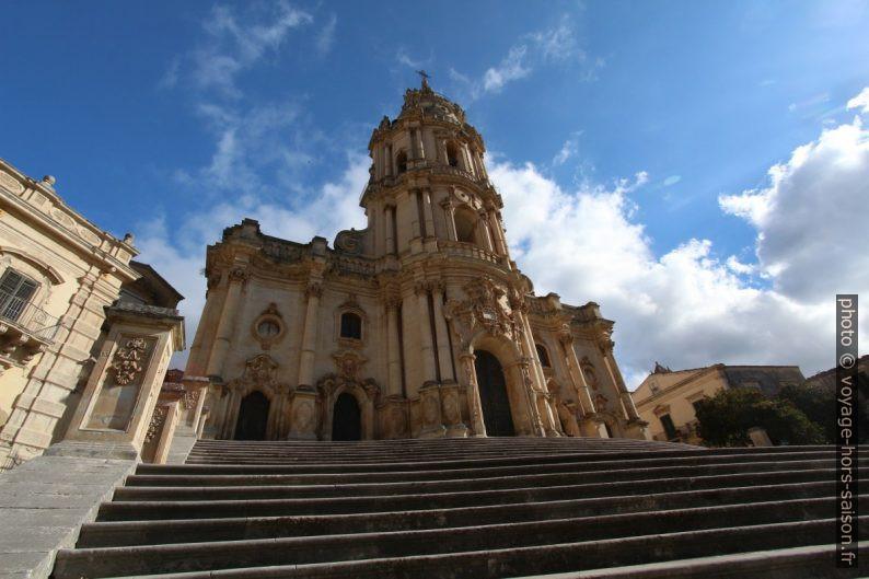 Cathédrale San Giorgio de Modica. Photo © André M. Winter