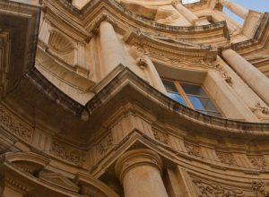 Façade baroque de la Chiesa di San Carlo. Photo © Alex Medwedeff