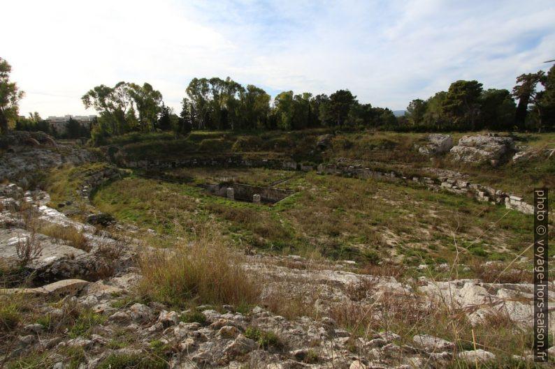 Amphithéâtre ovale de Syracuse. Photo © André M. Winter