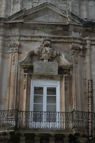 Balcon du Palazzo Beneventano del Bosco. Photo © Alex Medwedeff
