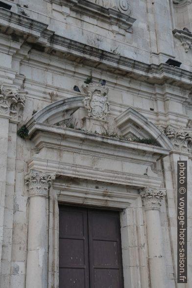 Façade principale de la Chiesa dello Spirito Santo. Photo © Alex Medwedeff