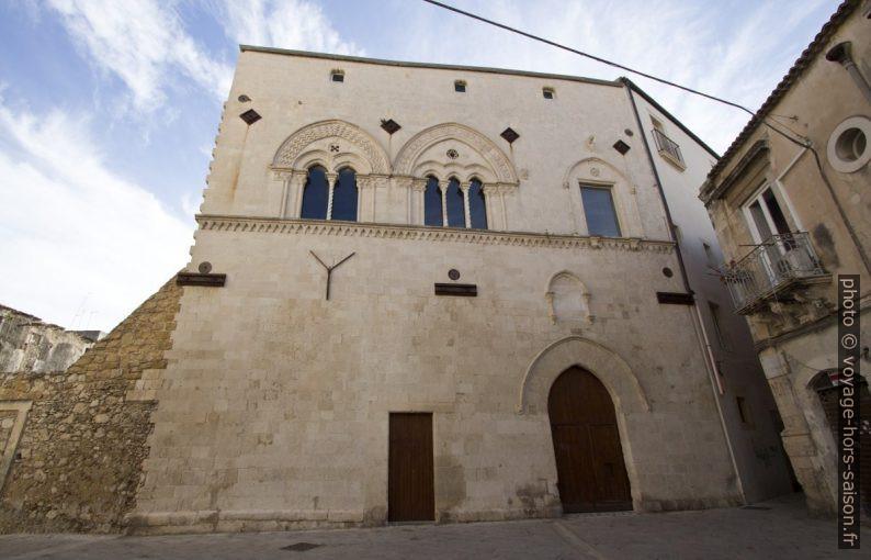 Il Palazzo Mergulese-Montalto. Photo © André M. Winter