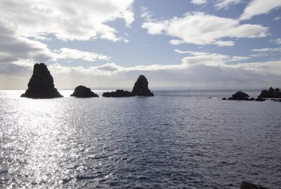 Faraglioni Aci Trezza delle Isole dei Ciclopi. Photo © André M. Winter
