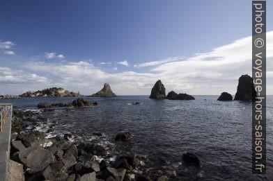 Faraglione delle Isole dei Ciclopi. Photo © André M. Winter