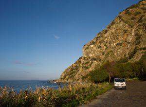 Notre trafic le matin au Lungomare Joppolo. Photo © Alex Medwedeff