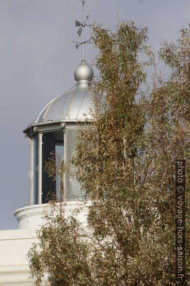 Lanterne du phare de Capo Vaticano. Photo © André M. Winter