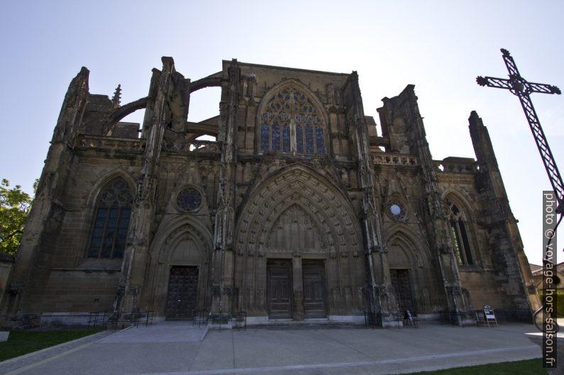 La façade occidentale de l'abbatiale de St. Antoine. Photo © Alex Medwedeff