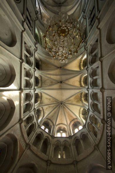 Voûte du chœur de l'église abbatiale de St. Antoine. Photo © André M. Winter