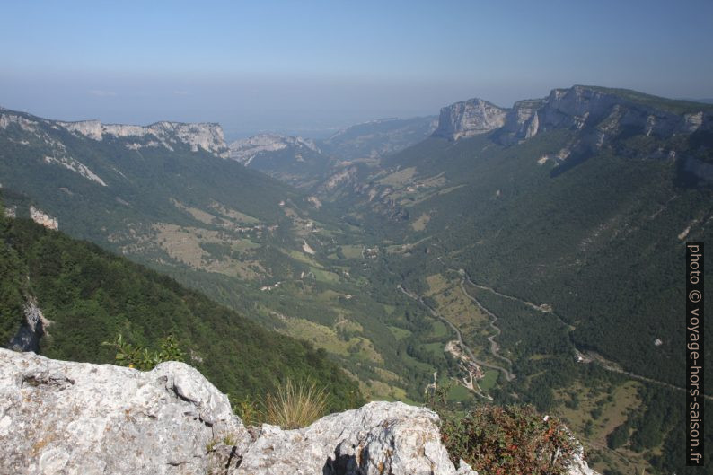 La Vallée d'Échevis. Photo © Alex Medwedeff