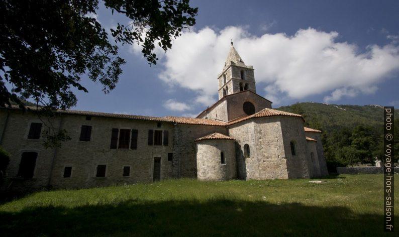 L'Abbaye de Léoncel. Photo © André M. Winter