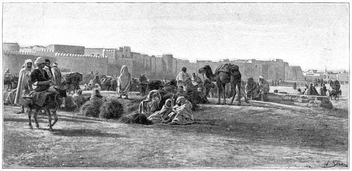 Les murailles de Sfax, véritable décor d'opéra