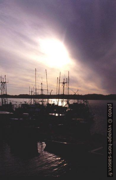 Dans le port de Prince Rupert. Photo © André M. Winter