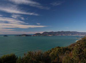 îles de Portovenere dans le Golfe de la Spezia. Photo © André M. Winter