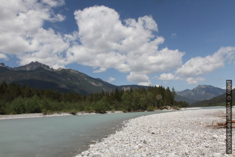 Rivière Lech à Stanzach. Photo © Alex Medwedeff