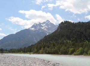 La rivière Lech. Photo © Alex Medwedeff