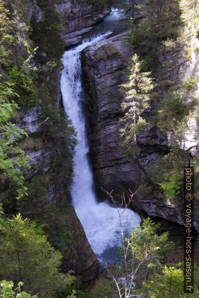Cascade Rotlech Wasserfall. Photo © André M. Winter