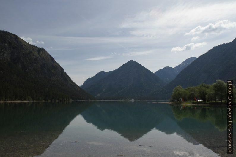 Montagne Spiess à l'est du lac Heiterwanger See. Photo © Alex Medwedeff