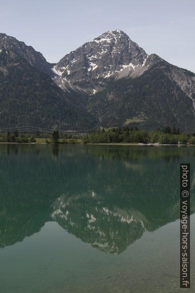 Montagne Thaneller à l'ouest du lac Heiterwanger See. Photo © Alex Medwedeff