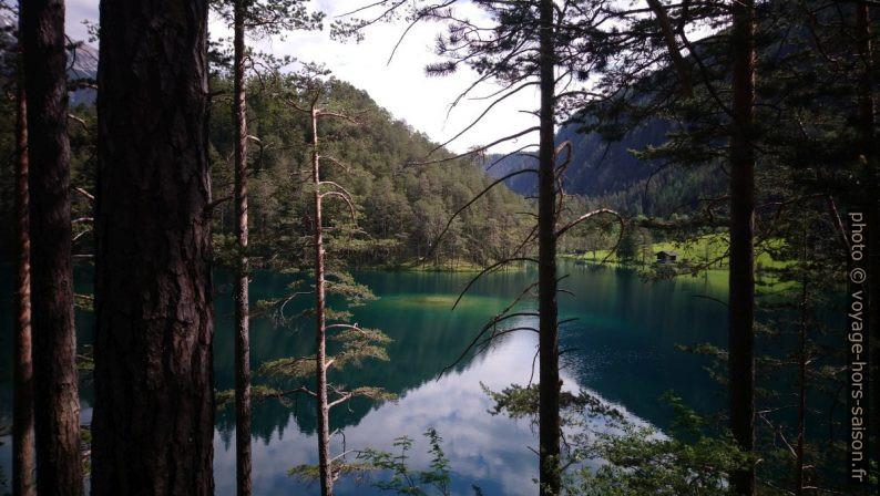 Le lac Fernsteinsee vu de le rive sud. Photo © André M. Winter