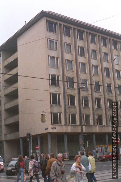 L'immeuble des facultés de l'Université de Vienne. Photo © Andreas Neumann