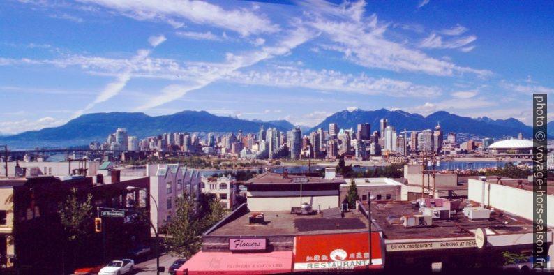 La Downtown de Vancouver. Photo © André M. Winter